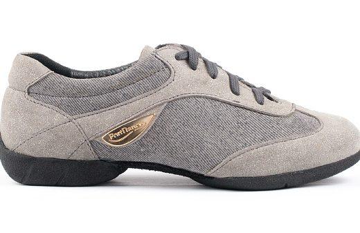 baskets de danse, sneakers de danse, femme, confortable, semelle gomme, gris (4)