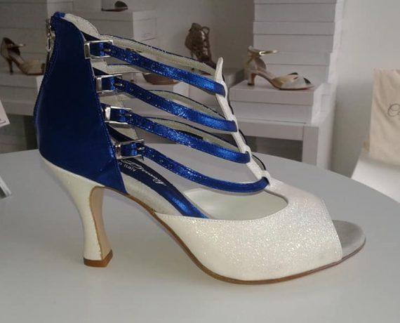 Incanta blanc bleu